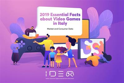 IIDEA unveils the new annual report on video games market in Italy